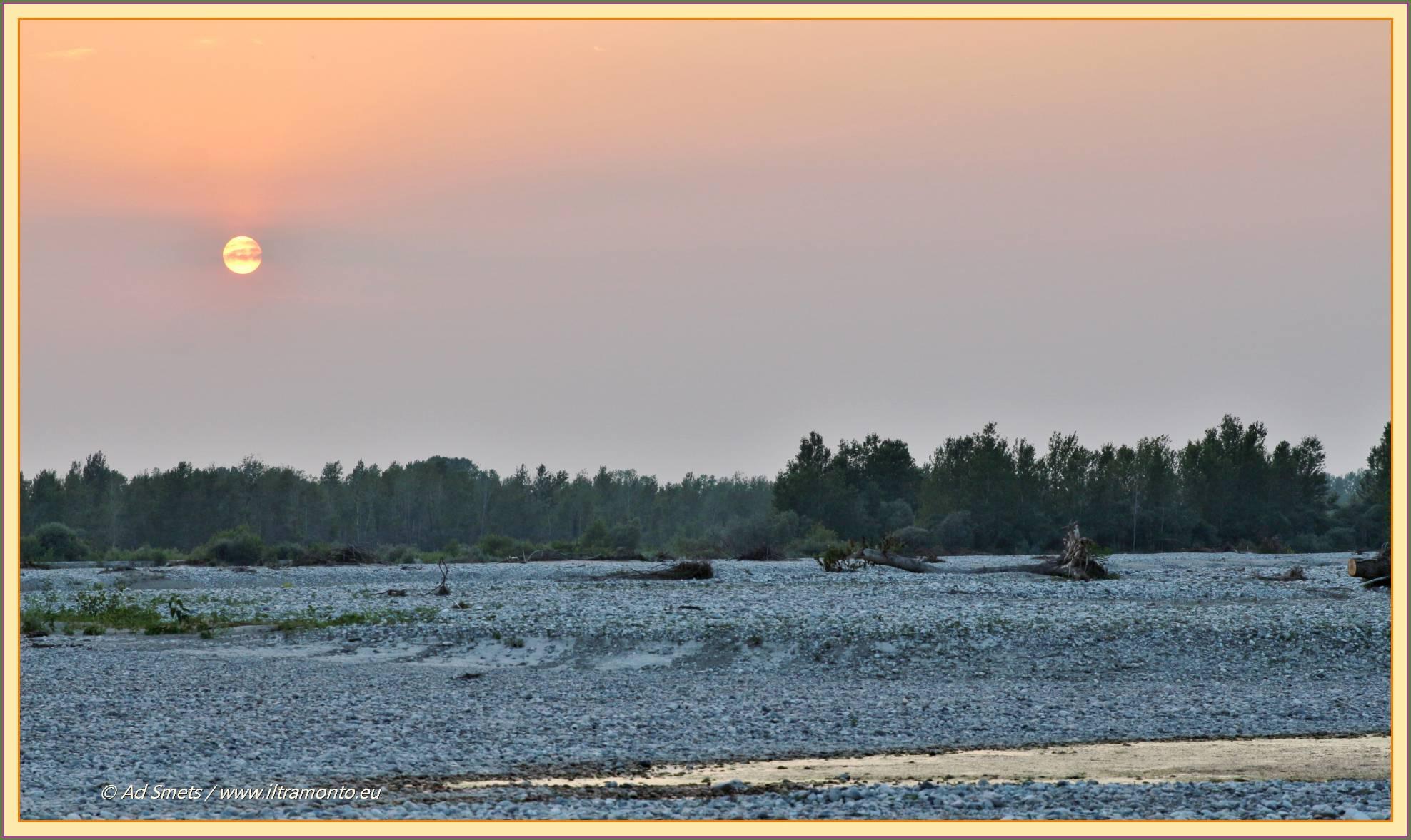 tagliamento_1837_il-tramonto