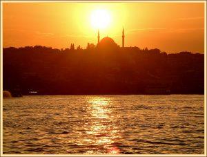 istanbul bij tramonto