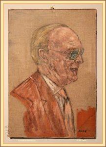 Prins Bernhard door Leon Golub (Villa Manin)